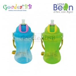 Little Bean 360ml/ 12oz PP Drinking Cup with Belt - Wonder Sippy
