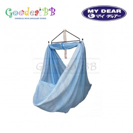 My Dear Large Spring Cot Net W/'Head Cover & Side Pocket