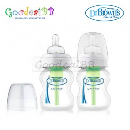 Dr. Brown's 5oz/150ml PP Wide-Neck 'Options' Baby Bottle (2 Pack)