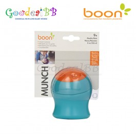 Boon Munch Snack Container - Blue/Orange