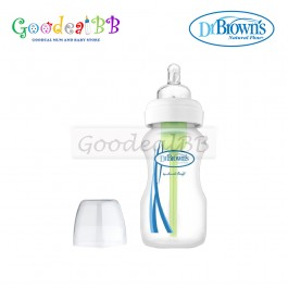 Dr. Brown's 9oz/270ml PP Wide-Neck 'Options' Baby Bottle (1 Pack)
