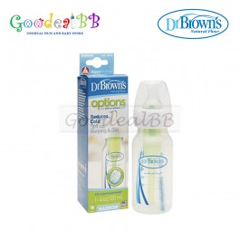 Dr. Brown's 4oz/120ml PP Narrow-Neck 'Options' Baby Bottle (1 Pack)