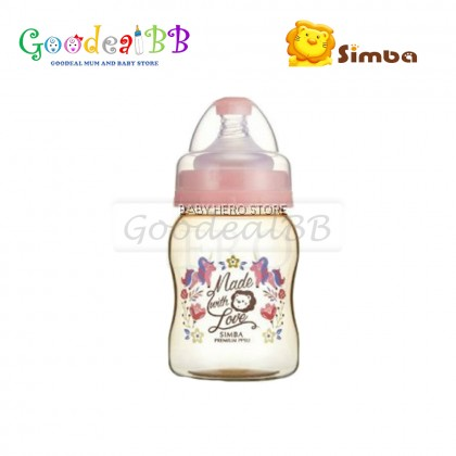 Simba Dorothy Wonderland PPSU Wide Neck Calabash Feeding Bottle (200ml)