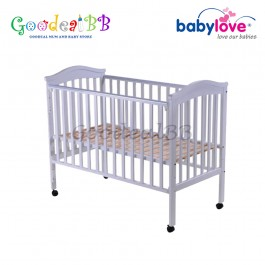 "Babylove Classic 4 In 1 Cot Bed 28"" x 52"" BL828 WT"