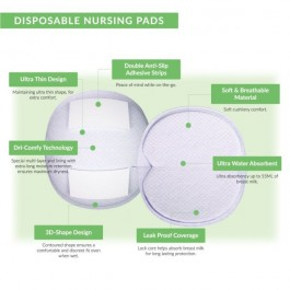 Shapee Disposable Nursing Pads (30pcs)