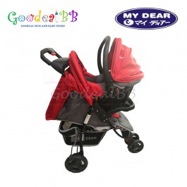 My Dear 18086 Baby Stroller With Carrier