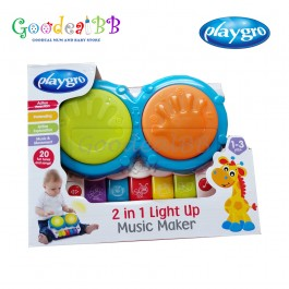 Playgro Jerry Class 2 In 1 Light Up Music Maker