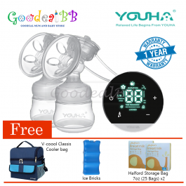 Youha Eclipse Double Electric Breastpump