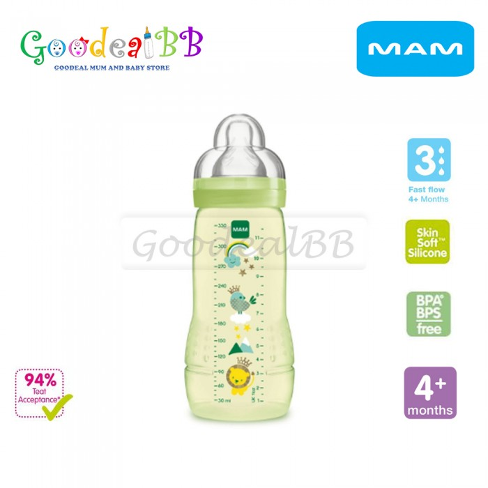 MAM Easy Active Baby Bottle 330ml
