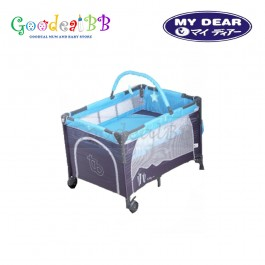 My Dear Tobby Playpen With Side Slide Door