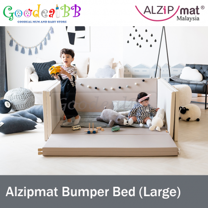 Alzipmat Bumper Bed - Size Large