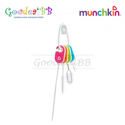 Munchkin Details Baby Bottle and Cup Cleaning Brush Set