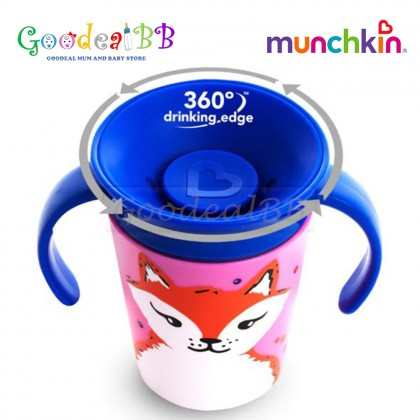 Munchkin Miracle 360 Wildlove Trainer Cup/ Baby Training Cup