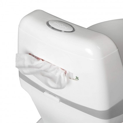 Nuby My Real Potty Mini Size Training Toilet with Life-Like Flush Button & Sound for Toddlers & Kids