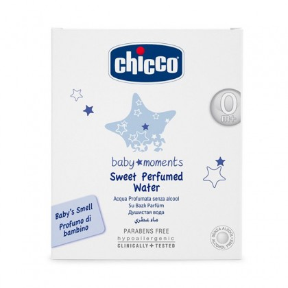Chicco Baby Moments Sweet Perfumed Water 0m+ (100ml)