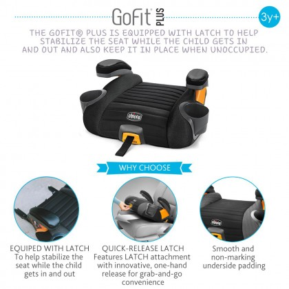 Chicco GoFit Plus Booster Car Seat With Isofix
