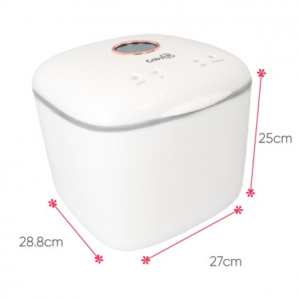 Coby Mini Waterless UV Sterilizer Version 2 Baby Sterilizer, Drying & Storage For Baby Feeding Gear, Linen, Baby Toys, Daily Necessities