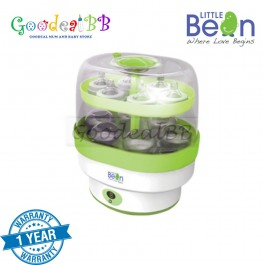 Little Bean Digital Sterilizer with 3 Bottles