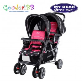 My Dear Twin Seated Baby Stroller 18011