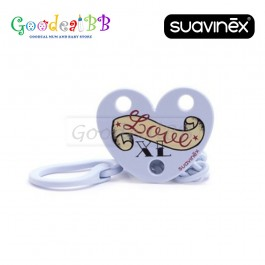 Suavinex XL Love Soother Chain +0m