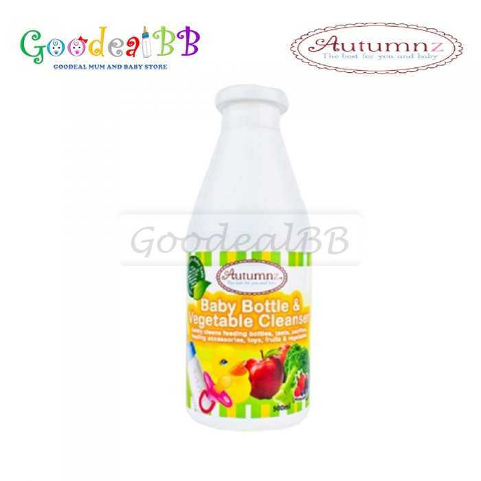 Autumnz - Baby Bottle & Vegetables Cleanser (500ml)