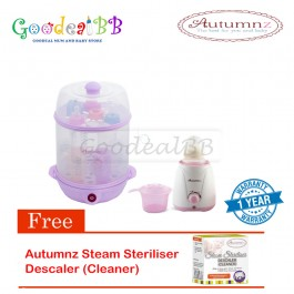 Autumnz 2-in-1 Sterilizer/Steamer + Home Warmer Combo