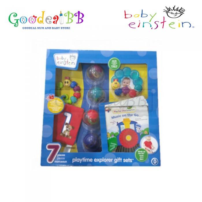 Baby Einstein 7 Piece Playtime Explorer Gift Set