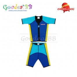 Cheekaaboo - Kiddy Twinwet Separates Thermal Swimsuit (M size)